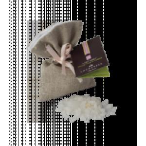 Линия «Лохербер Хоум» «Уютный дом» - Хлопковое саше с ароматизированной сицилийской морской солью